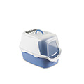 CATHY EASY CLEAN CAT TOILETS BLUE